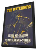 Waterboys - 11 x 17 Music Poster - Style A - in Deluxe Wood Frame