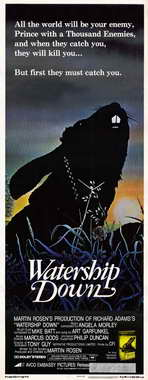 Watership Down - 14 x 36 Movie Poster - Insert Style A