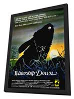 Watership Down - 27 x 40 Movie Poster - Style A - in Deluxe Wood Frame