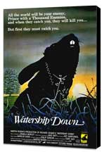 Watership Down - 27 x 40 Movie Poster - Style A - Museum Wrapped Canvas