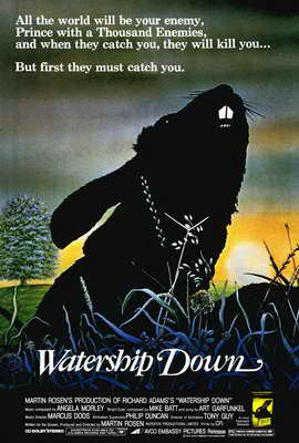 Watership Down - 27 x 40 Movie Poster - Style A