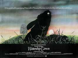 Watership Down - 11 x 17 Movie Poster - UK Style A