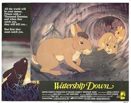 Watership Down - 11 x 14 Movie Poster - Style F