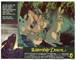 Watership Down - 11 x 14 Movie Poster - Style H