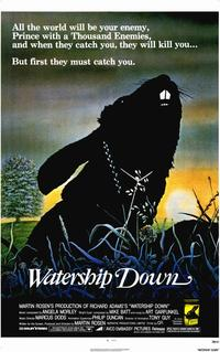 Watership Down - 11 x 17 Movie Poster - Style A - Museum Wrapped Canvas