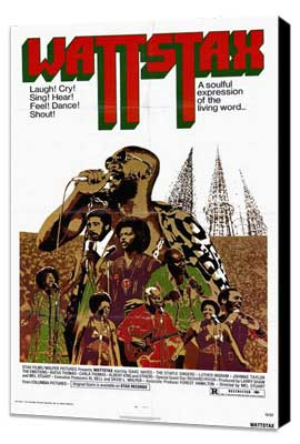 Wattstax - 27 x 40 Movie Poster - Style A - Museum Wrapped Canvas
