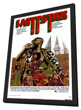 Wattstax - 11 x 17 Movie Poster - Style A - in Deluxe Wood Frame