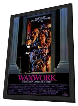 Waxwork - 11 x 17 Movie Poster - Style A - in Deluxe Wood Frame