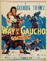 Way of a Gaucho - 27 x 40 Movie Poster - Style B