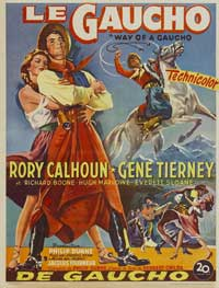 Way of a Gaucho - 27 x 40 Movie Poster - Belgian Style A