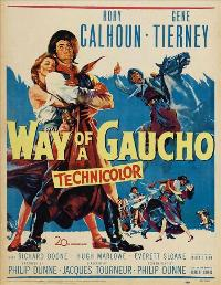 Way of a Gaucho - 11 x 17 Movie Poster - Style B