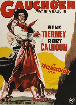 Way of a Gaucho - 11 x 17 Movie Poster - Danish Style A
