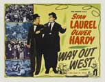Way Out West - 22 x 28 Movie Poster - Half Sheet Style A