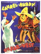 Way Out West - 11 x 17 Movie Poster - French Style A