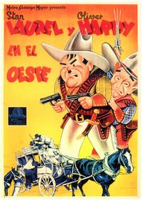 Way Out West - 27 x 40 Movie Poster - Spanish Style A