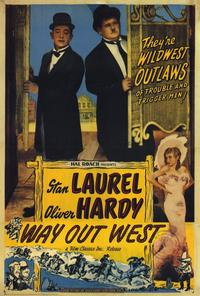 Way Out West - 27 x 40 Movie Poster - Style A