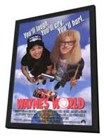 Wayne's World - 11 x 17 Movie Poster - Style A - in Deluxe Wood Frame