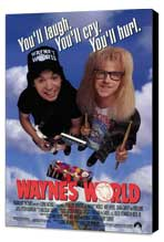 Wayne's World - 27 x 40 Movie Poster - Style A - Museum Wrapped Canvas