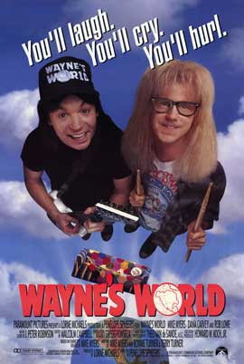 Wayne's World - 11 x 17 Movie Poster - Style A