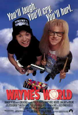 Wayne's World - 27 x 40 Movie Poster - Style A