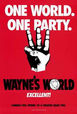 Wayne's World - 27 x 40 Movie Poster - Style B