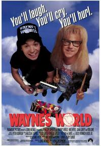 Wayne's World - 43 x 62 Movie Poster - Bus Shelter Style A