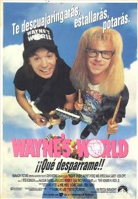 Wayne's World - 11 x 17 Movie Poster - Spanish Style A