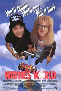 Wayne's World - 11 x 17 Movie Poster - Style A - Museum Wrapped Canvas