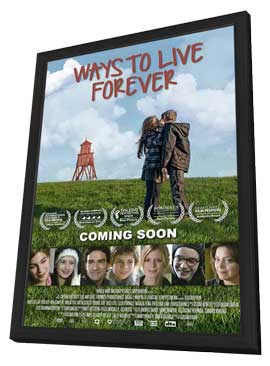 Ways to Live Forever - 11 x 17 Movie Poster - Style A - in Deluxe Wood Frame