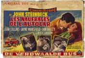 Wayward Bus - 11 x 17 Movie Poster - Belgian Style A