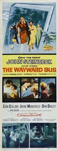Wayward Bus - 14 x 36 Movie Poster - Insert Style A