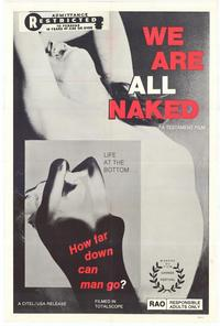 We Are All Naked - 11 x 17 Movie Poster - Style A