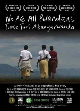 We Are All Rwandans - 11 x 17 Movie Poster - Style A