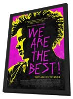 We Are the Best! - 11 x 17 Movie Poster - Style A - in Deluxe Wood Frame