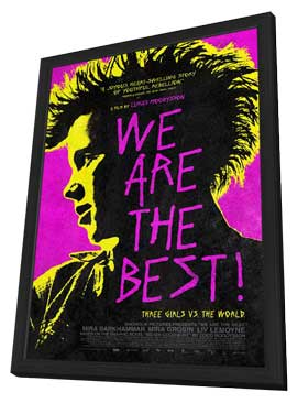 We Are the Best! - 27 x 40 Movie Poster - Style A - in Deluxe Wood Frame