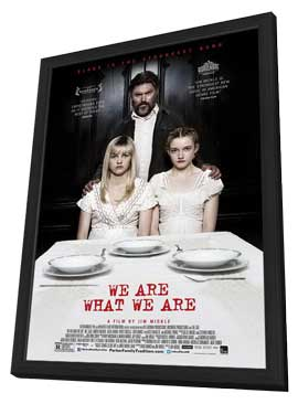We Are What We Are - 11 x 17 Movie Poster - Style A - in Deluxe Wood Frame