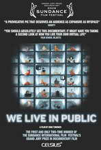 We Live in Public - 27 x 40 Movie Poster - Style A