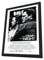 We Own the Night - 11 x 17 Movie Poster - Style A - in Deluxe Wood Frame