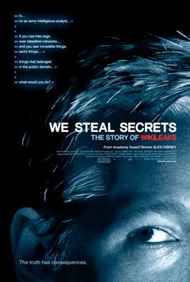 We Steal Secrets: The Story of WikiLeaks - 27 x 40 Movie Poster - Style A
