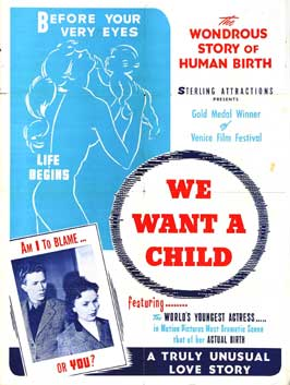 We Want a Child - 27 x 40 Movie Poster - Style A