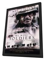 We Were Soldiers - 11 x 17 Movie Poster - Style B - in Deluxe Wood Frame