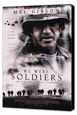 We Were Soldiers - 27 x 40 Movie Poster - Style B - Museum Wrapped Canvas