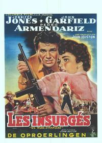 We Were Strangers - 11 x 17 Movie Poster - Belgian Style A