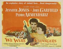 We Were Strangers - 11 x 14 Movie Poster - Style A