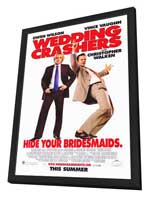 Wedding Crashers - 27 x 40 Movie Poster - Style A - in Deluxe Wood Frame