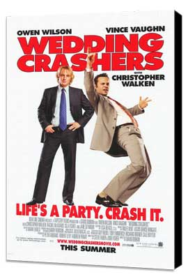 Wedding Crashers - 11 x 17 Movie Poster - Style C - Museum Wrapped Canvas