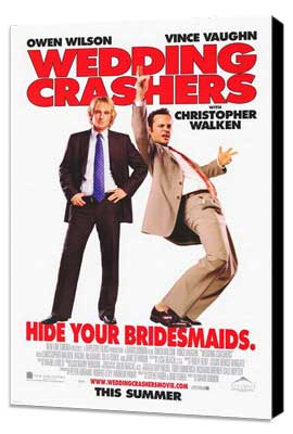 Wedding Crashers - 27 x 40 Movie Poster - Style A - Museum Wrapped Canvas
