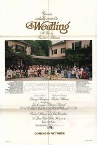 A Wedding - 27 x 40 Movie Poster - Style B