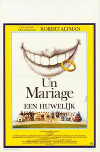 A Wedding - 27 x 40 Movie Poster - Belgian Style A