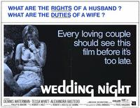Wedding Night - 11 x 14 Movie Poster - Style A